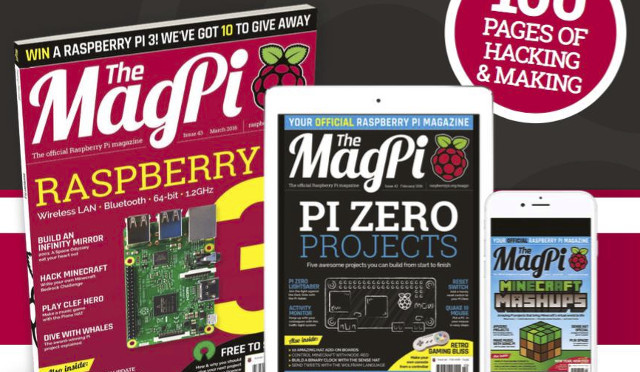 New Raspberry Pi 3 with 64-bit cores and built-in Wi-Fi and BLE