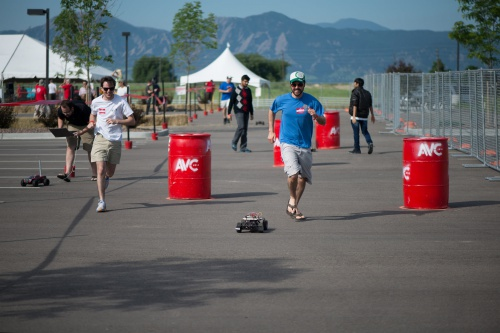 Sparkfun Autonomous Vehicle Competition course preview