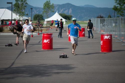 Sparkfun Autonomous Vehicle Competition course preview
