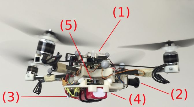 "PX4-based ""aggressive quadcopter"" navigates gaps with pure autonomy"