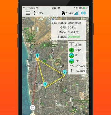iMavlink – iOS Ground Control for ArduCopter/PX4 Drones