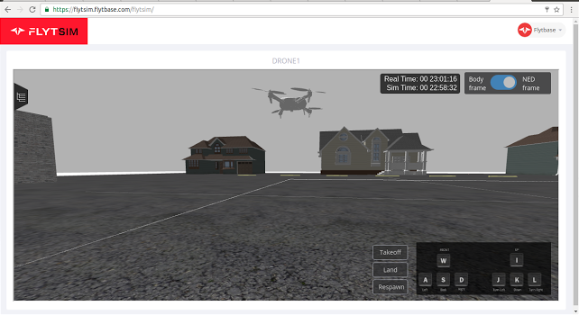 FlytSIM – 3D simulator for Drones – Now on Cloud