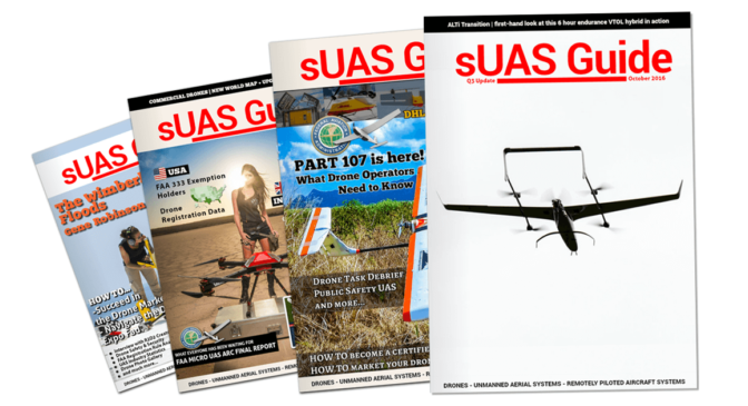sUAS News Guide, Q3 update